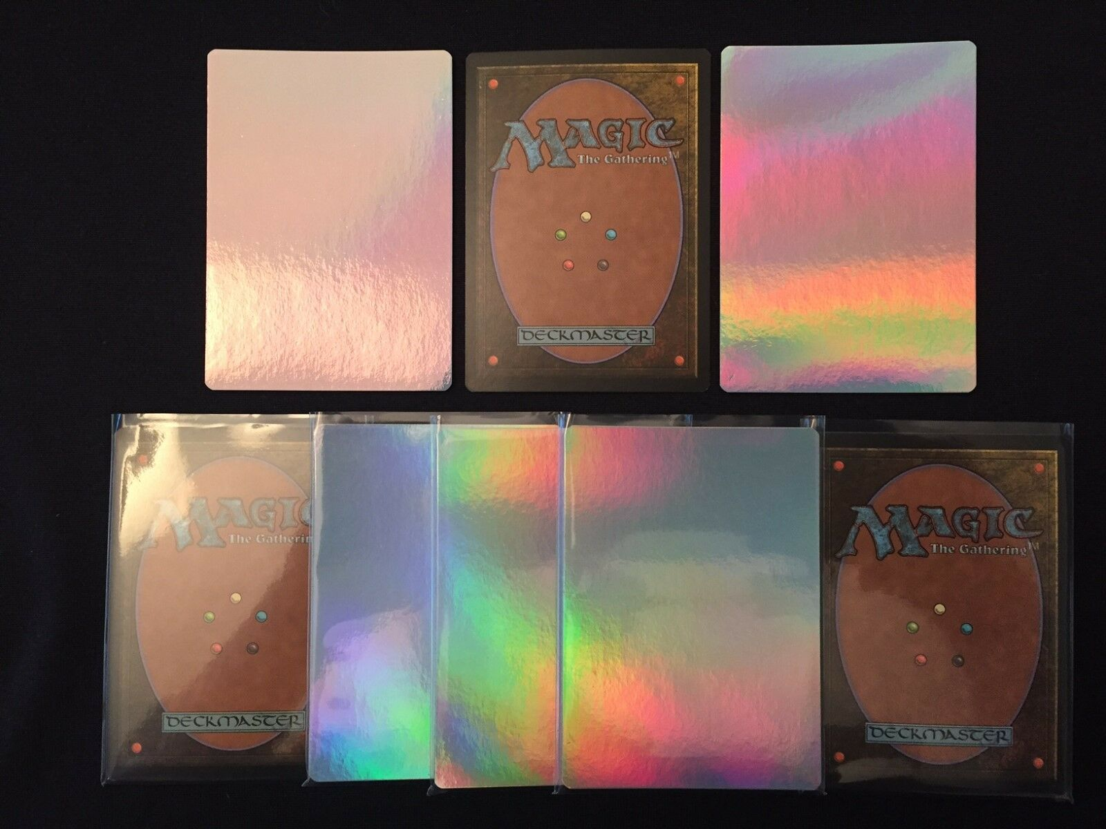 50x FOIL PROXY MTG BLANKS - Magic the Gathering - Create any MTG Proxy