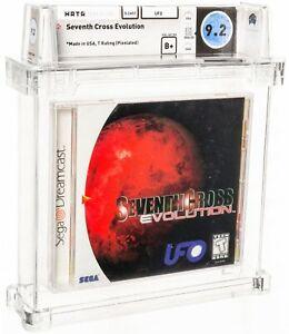 2000 Seventh Cross Evolution Sega Dreamcast Video Game WATA 9.2 B+ Sealed