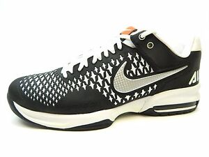 best sneakers 3e8fa 18902 Image is loading NIKE-AIR-MAX-CAGE-554875-002-BLACK-METALLIC-
