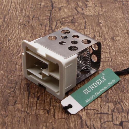 Car Heater Blower Motor Resistor For Vauxhall//Opel Astra G//H Zafira-A NE8X New