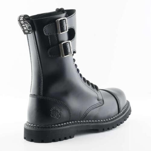 sicurezza Twin Unisex in Occhiello Cs acciaio Stivali di Grinders Camelot Buckle Black 14 TavXZnqX