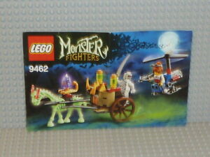 LEGO-Monster-Fighters-Bauanleitung-9462-The-Mummy-ungelocht-instruction-B2369