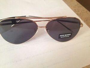 New-Steve-Madden-Unisex-Sunglasses-SM462139-GOLD-MSRP-40