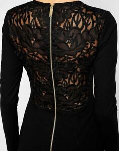New-Ted-Baker-Mayaa-Embroidered-Lace-Back-Tulip-Bodycon-Dress-Sz-1-3