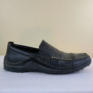 Cole-Haan-Tucker-Venetian-Black-Leather-Driving-Loafer-Casual-C03557-Men-039-s-12-M