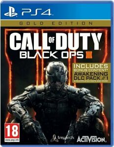 Call of Duty: Black Ops 3 - Gold Edition PS4 (Sony PlayStation 4) Brand New