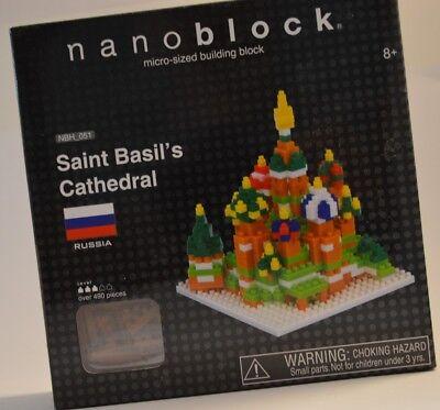Basil Cathedral 490 Pcs Building Block S.58162 Nanoblock St