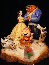 "Jim Shore Disney Traditions Beauty and the Beast Statue ""Tale as Old as Time""NIB"