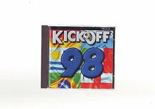 KICK OFF 98 - RARE 1997 FOOTBALL PC GAME - FAST POST - COMPLETE WITH MANUAL
