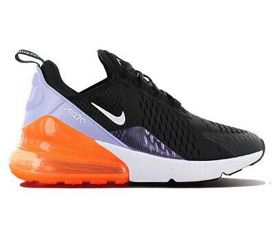 Gewidmet Nike Air Max 270 Sneaaker Damen Schuhe 943346-004 Schwarz Freizeit Turnschuh Neu