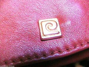 Pierre Cardin French 1960s Woman Leather Wrist Clutch Bag Logo Perfect Vintage Ebay