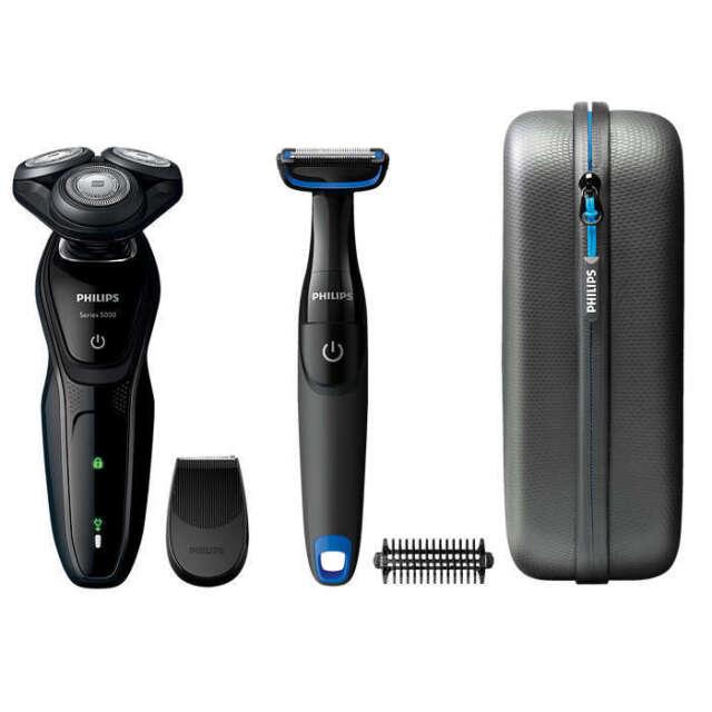 PHILIPS AquaTouch S5082/64 Nass u. Trockenrasierer Elektrorasierer + Bodygroom