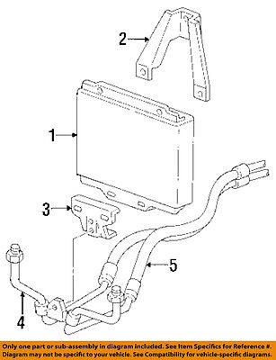 GM OEM Transmission Oil Cooler-Inlet Hose 12472277