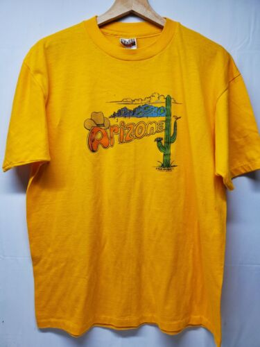 Vintage Arizona Hanes Fifty Fifty Combed Single St