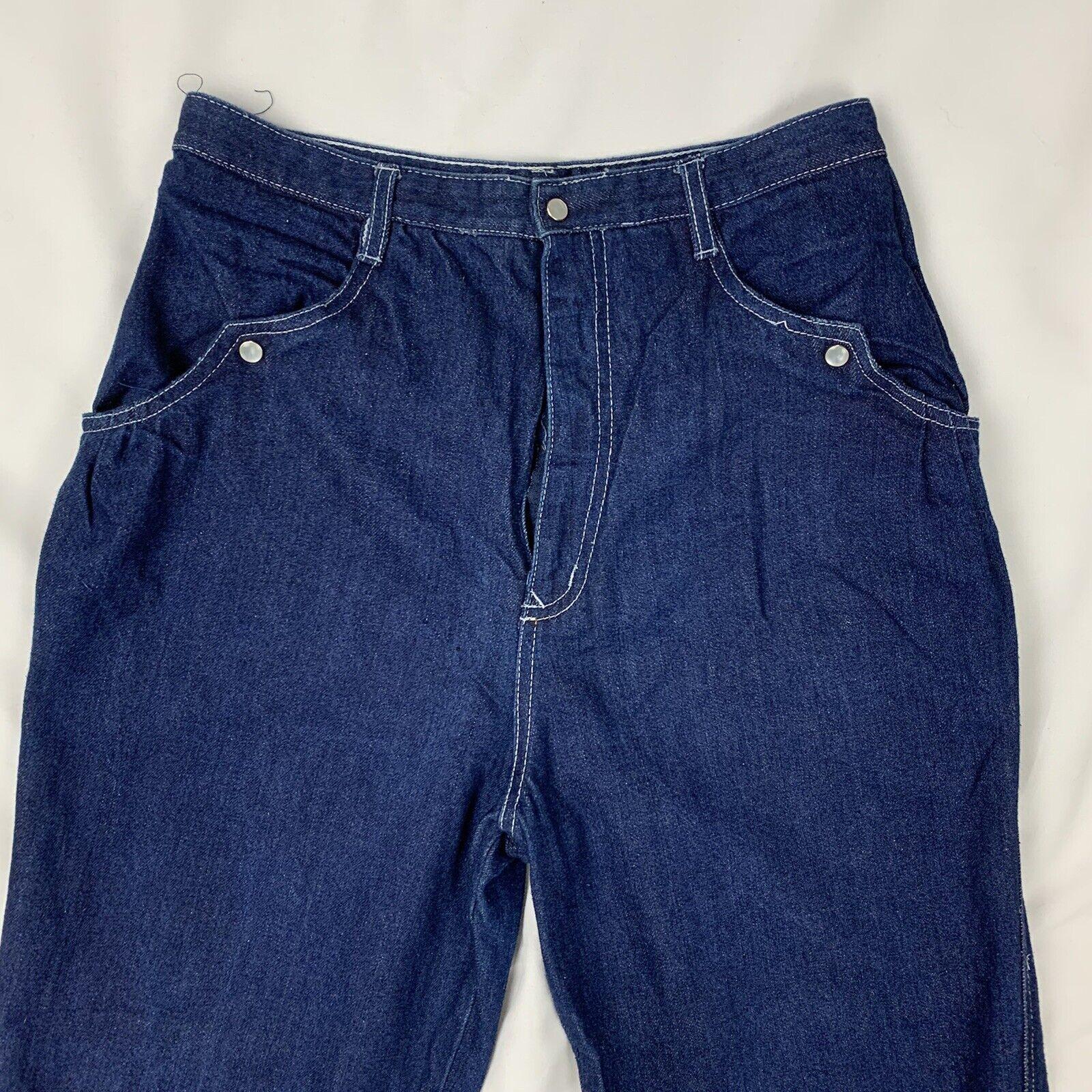Vintage Women's N'Est-Ce Pas? Jeans 28.5 x 40 100… - image 6