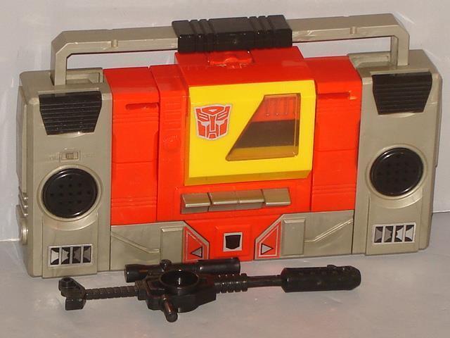 G1 transformator autobot - blaster  original  vollständige menge   9   nizza gereinigt.