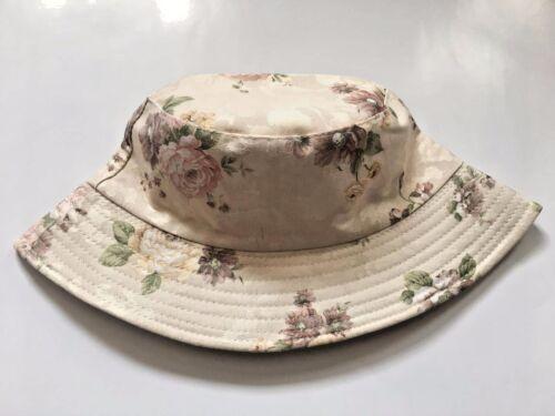 NEW LADIES FLORAL DESIGN RETRO SUN HAT WOMEN/'S BEACH SUMMER SUN BUCKET HAT