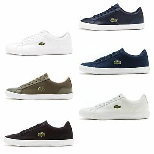 a3cd7d061554 Lacoste Lerond BL 1   2 CAM   SPM Leather   Textile Trainers in All ...