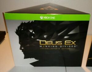 Deus-Ex-Mankind-Divided-Collectors-Edition-Xbox-One-Brand-New-Xbox