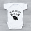 My Big Brother Is A Pug Cute Unisex Baby Grow Bodysuit Vest