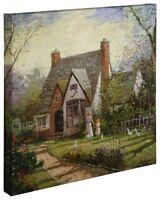 Thomas Kinkade Wrap - The Cottage – 20 X 20 Wrapped Canvas