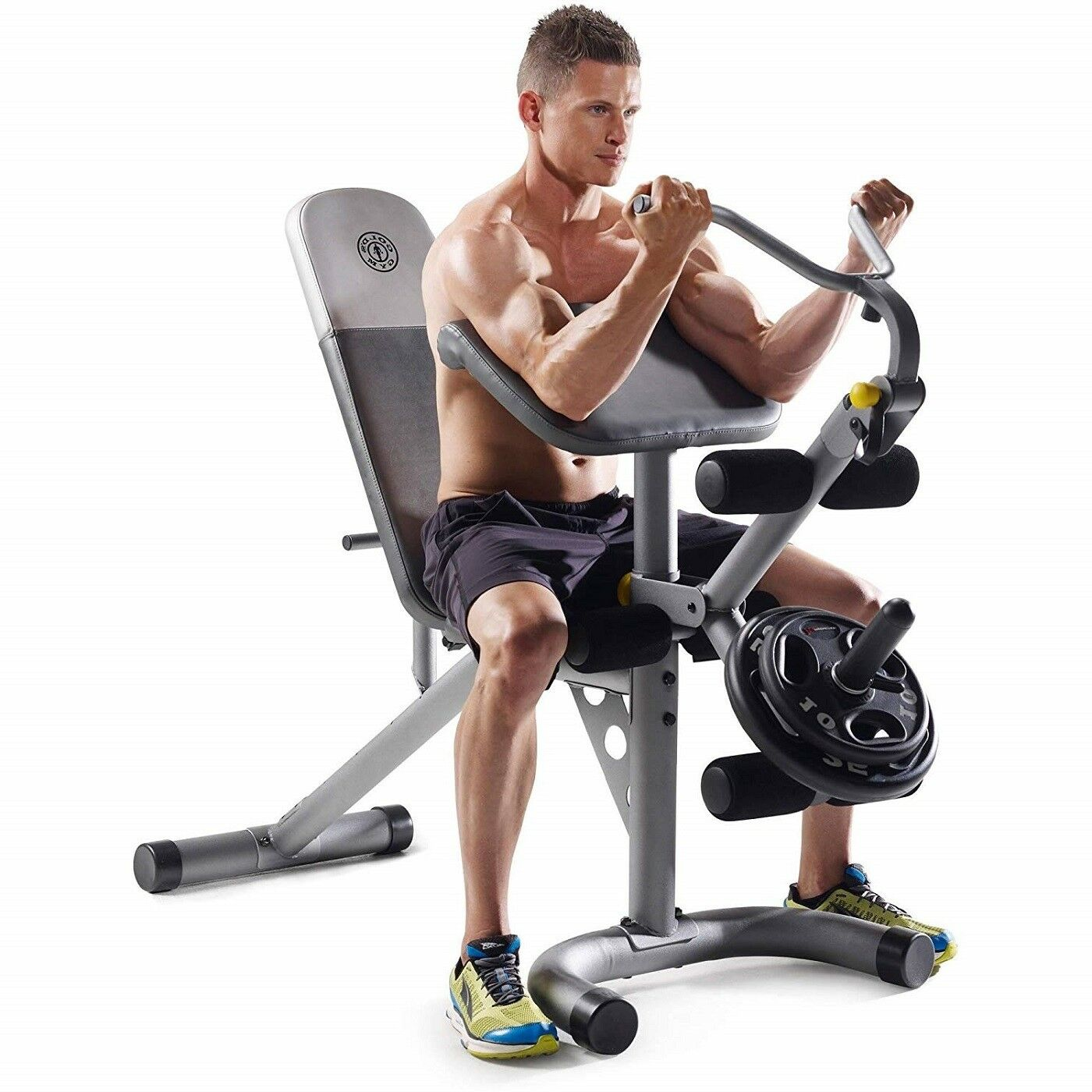 Home Fitnessgeräte Olympic Workout Bench Leg Developer Oberkörper Bicep