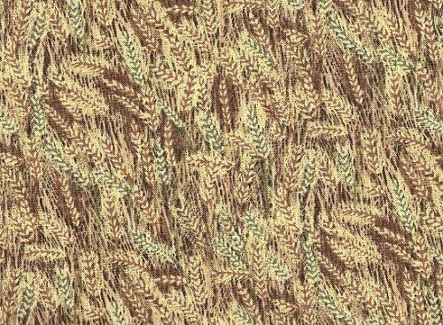 Fat Quarter Wheat Pattern Farm Living 100/% Cotton Quilting Fabric
