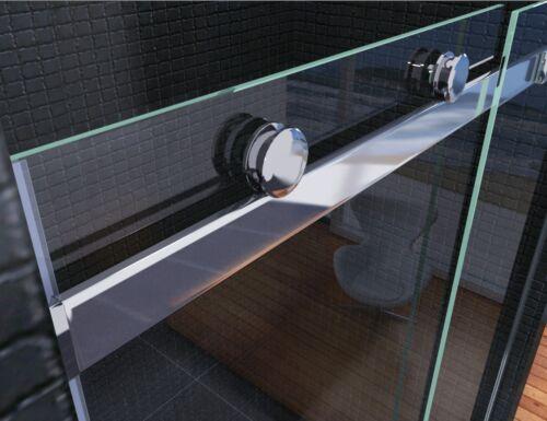 Luxury Frameless Sliding Shower Door Enclosure Easyclean Glass Screen Stone Tray