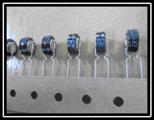 Panasonic Doppelschicht Kondensator Goldcap 0,22F 5,5V 10,5x13mm RA5  2 Stück