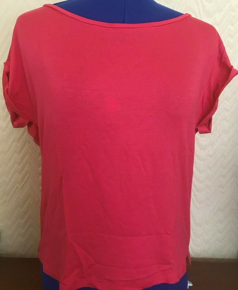 Berydale Femmes T-shirt Loose Fit, Neuf. Taille Petit. Couleur: Rose-mall.colour:pink