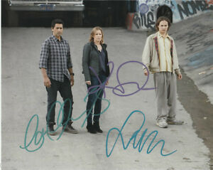 Fear-The-Walking-Dead-Curtis-Dickens-Dillane-Autographed-Signed-8x10-Photo-COA-B