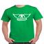 Aerosmith-Wings-T-Shirt-Classic-Rock-Band thumbnail 7