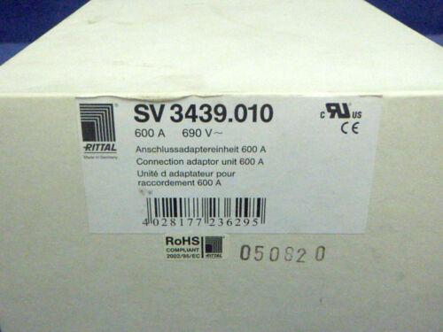 Rittal Anschlussadaptereinheit 600A 690V SV 3439.010    NEU NEW OVP