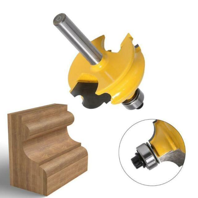 8mm Shank Carbide Biscuit Cutter Router Bit Wood Milling Cutter Power Tools