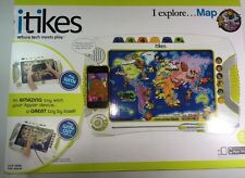 iTikes Map - I Explore...MAP - Interactive Geographic Geography Learning NEW