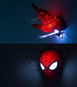 Marvel avengers led 3d wall night light deco super heroes spideman la foto se est cargando marvel avengers led 3d wall night light deco aloadofball Gallery