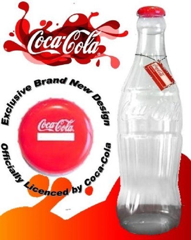 Hucha Comfylot Ltd con dise/ño de botella gigante de Coca Cola de 60 cm 60cm para ahorro de dinero Brand-GUINESS