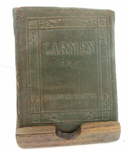 CARMEN-PROSPER-MERIMEE-LITTLE-LEATHER-LIBRARY-REDCROFT-ED-RARE-ANTIQUE