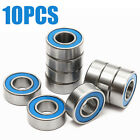 10pcs MR115-2RS Rubber Sealed Black Ball Bearing 5 x 11 x 4mm Miniature Bearings