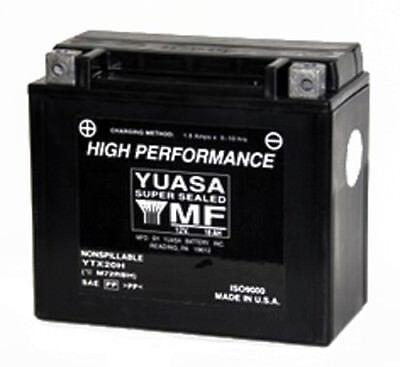 Yuasa YUAM72RBH YTX20H Battery