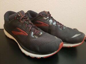 Brooks-Mens-Adrenaline-GTS-20-1103071D029-Black-Running-Shoes-Lace-Up-Size-13-D