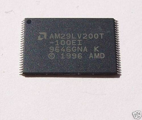 AMD AM29LV200T BOOT SECTOR FLASH MEMORY 2Mb SMD 2 PCS