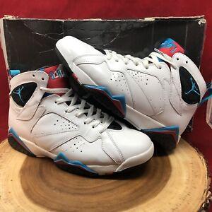 watch c4576 85cbc Image is loading Nike-Air-Jordan-VII-7-Retro-White-Orion-