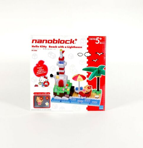 Brand New Nanoblock HELLO KITTY Restaurant with Terrace YELLOW KITTY
