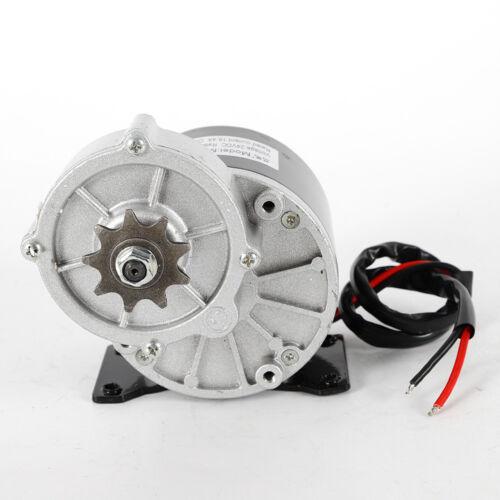 24V Volt 350W MY1016Z3 Gear Reduction Electric Motor 300 rpm Sprocket USA