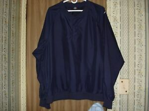 64907e70fefd Image is loading Nike-Mens-Golf-Jacket-Pullover-Navy-Blue-Large-