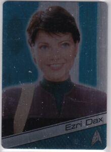 Details about STAR TREK 50TH ANNIVERSARY METAL INSERT M31 NICOLE DE BOER AS  LT  EZRI DAX