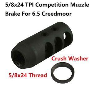 5 8x24 Tpi Thread 6 5 Creedmoor Competition Muzzle Brake