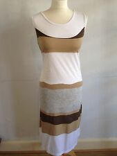 Lisa Campione White Dress, Size 14, Excellent Condition