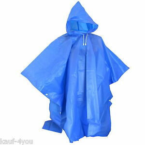Poncho Pluie Poncho Pluie Protection Cosy Capuchon Boutons  </span>